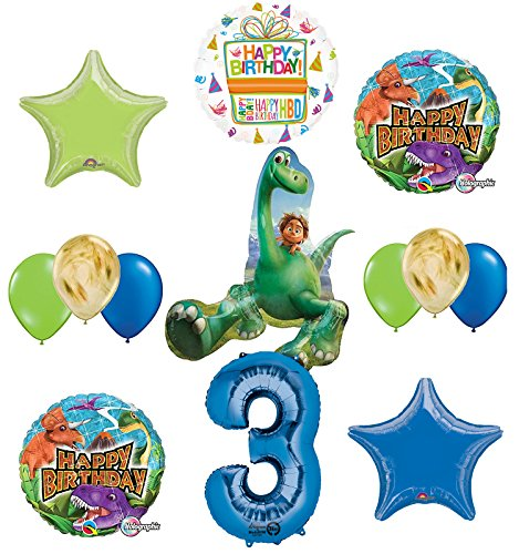 Arlo and Spot The Good Dinosaur 3rd Birthday Party Supplies