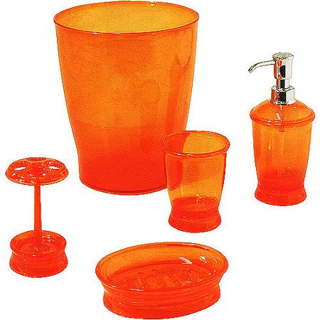 Mainstays 5-Piece Bath Accessory Set