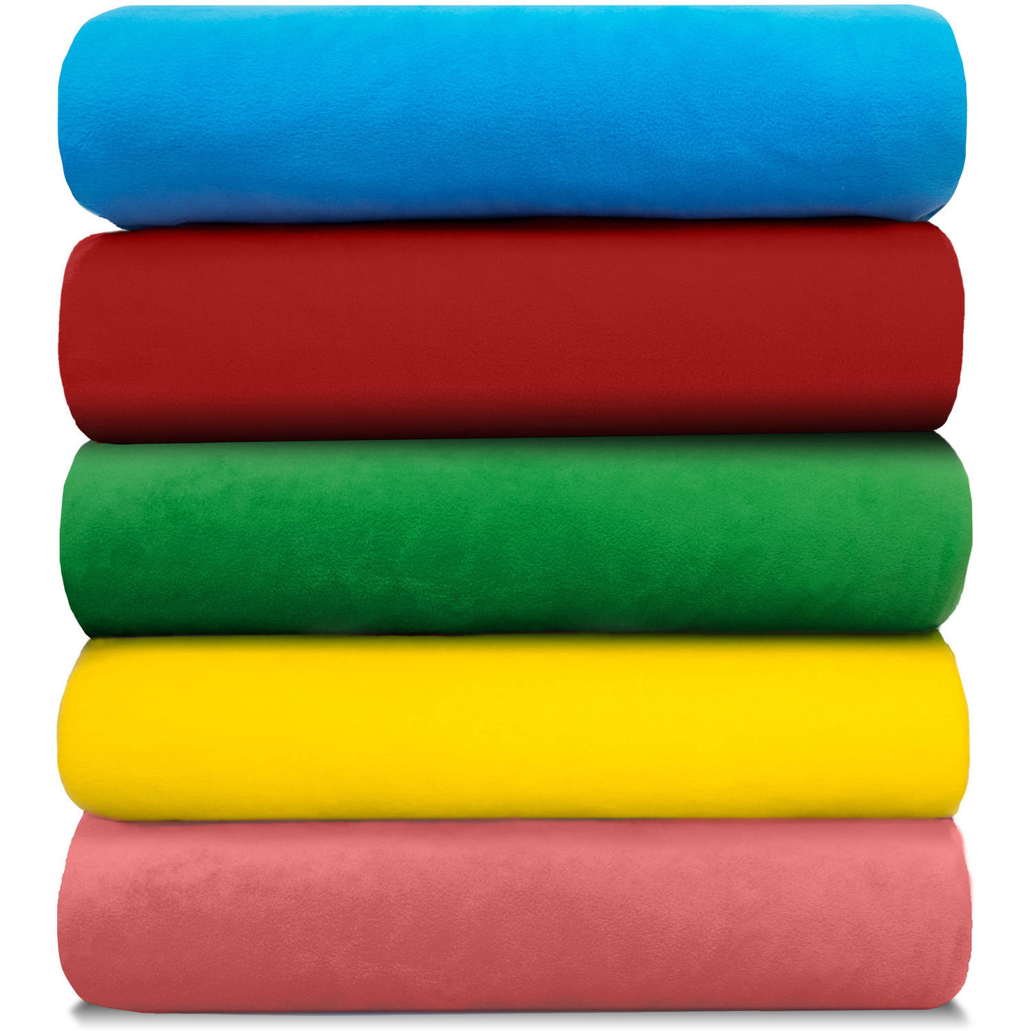 "Anti-Pill Polyester Fleece Solids Fabric By The Yard, 60"" Wide"