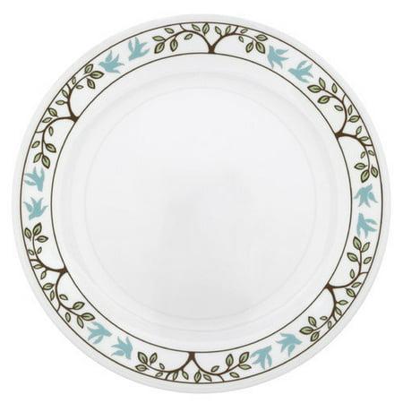 Corelle Livingware Tree Bird Dinner Plate Set Of 6 Walmar