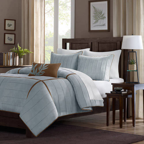 Home Essence Lancaster 4-Piece Microsuede Comforter Set