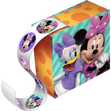 Minnie Mouse Party Favor Sticker Boxes - 4 Pack - image 1 of 1