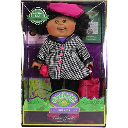"Cabbage Patch Kids 18"" Big Kid Collection, Eden Joelle The World Traveler - Rare Limited Edition - image 1 of 2"
