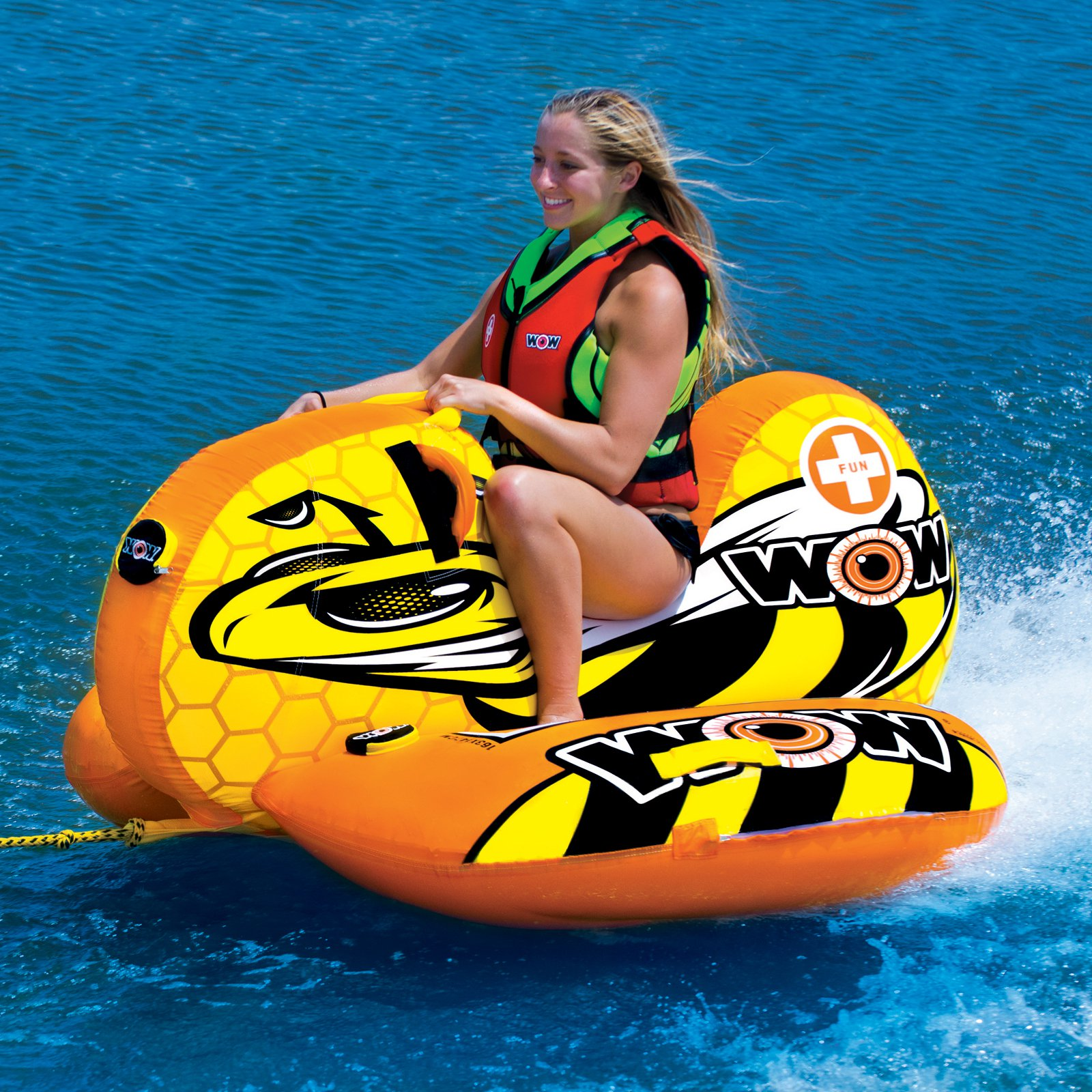 WOW World of Watersports Buzz Boat Ski Tube