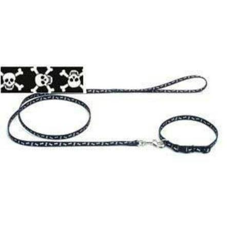 Products DCP364SKZ Nylon Pet Attire Patterned Dog Training Leash, 3/8-Inch by 4-Feet, Skulls, Pet Attire patterned training leash is dress up.., By Coastal Pet - 70 Dress Attire