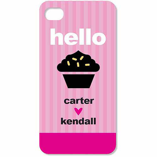 Personalized Hello Cupcake iPhone 4 Case