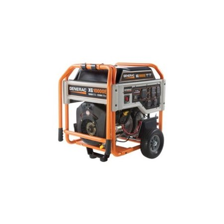 Generac 5802 XG Series 10,000 Watt Electric Start Portable Generator
