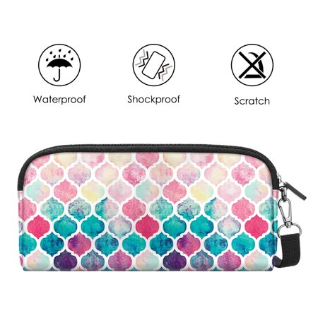 Fintie Nintendo Switch Carrying Travel Case/Cover with 10 Cartridge Holders, Moroccan Love - image 2 of 7