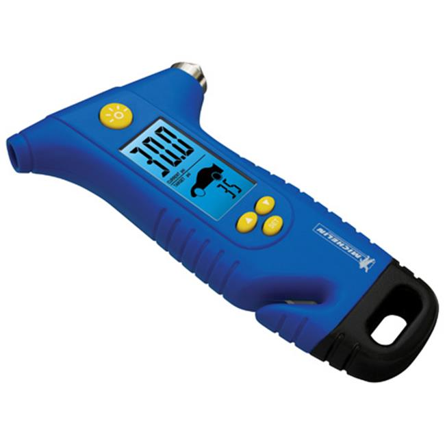 Michelin MN4205 Programmable Tire Gauge & Escape Hammer
