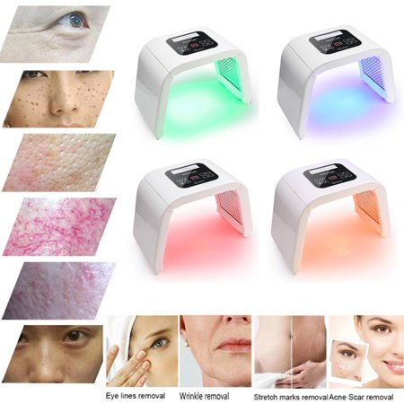 4Colors LED Light Photodynamic PDT Facial Skin Care Rejuvenation Photon Therapy (Best Home Led Light Therapy For Skin)