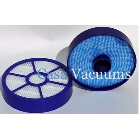 Dyson DC33 Vacuum Filter Kit Pre Filter (919563-02) and Post-Motor HEPA Filter (921616-01) Washable & Reusable