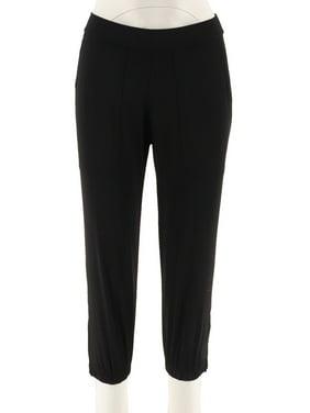 1924726c Product Image Lisa Rinna Banded Bottom Knit Crop Pants A287832