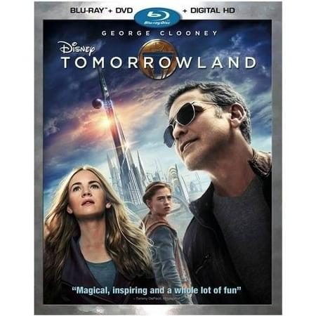 Tomorrowland  Blu Ray   Dvd   Digital Hd   Widescreen