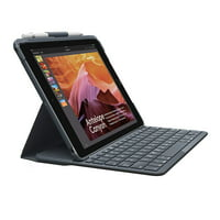 Logitech Slim Folio with Integrated Bluetooth Keyboard for iPad (5th and 6th Generation) - Bulk Packaging - Black