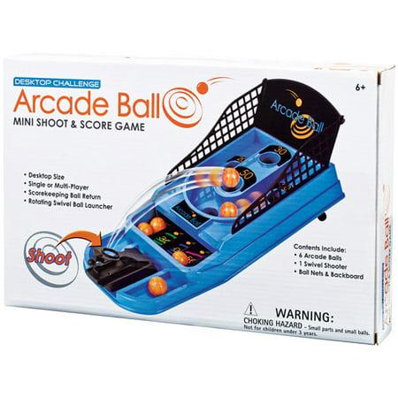 Desktop Challenge, Arcade Ball Mini Shoot & Score Game