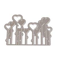 iLH Mallroom New Flower Heart Metal Cutting Dies Stencils DIY Scrapbooking Album Paper Card