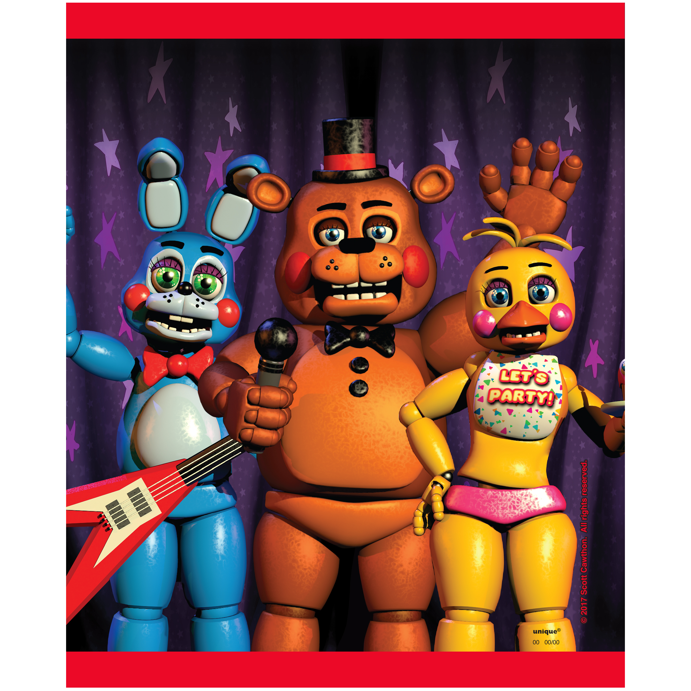 Five Nights at Freddy/'s favor boxes