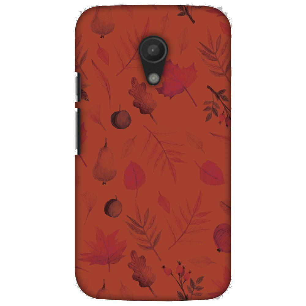 Motorola Moto G 2nd Gen 4G LTE Case, Motorola Moto G 2nd Gen Case - Colours of Autumn,Hard Plastic Back Cover, Slim Profile Cute Printed Designer Snap on Case with Screen Cleaning Kit