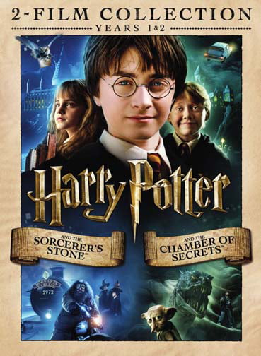 Harry Potter 2-Film Collection (Sorcerer's Stone   Chamber of Secrets) (DVD) by