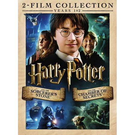 Harry Potter 2-Film Collection (Sorcerer's Stone / Chamber of Secrets) (DVD)](Top Childrens Halloween Films)