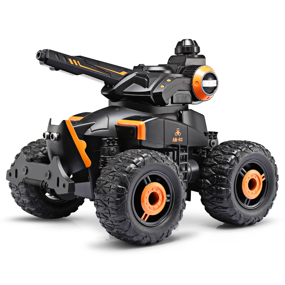 YED Water Jet RC 4 Wheel Off Road Stunt Military Car