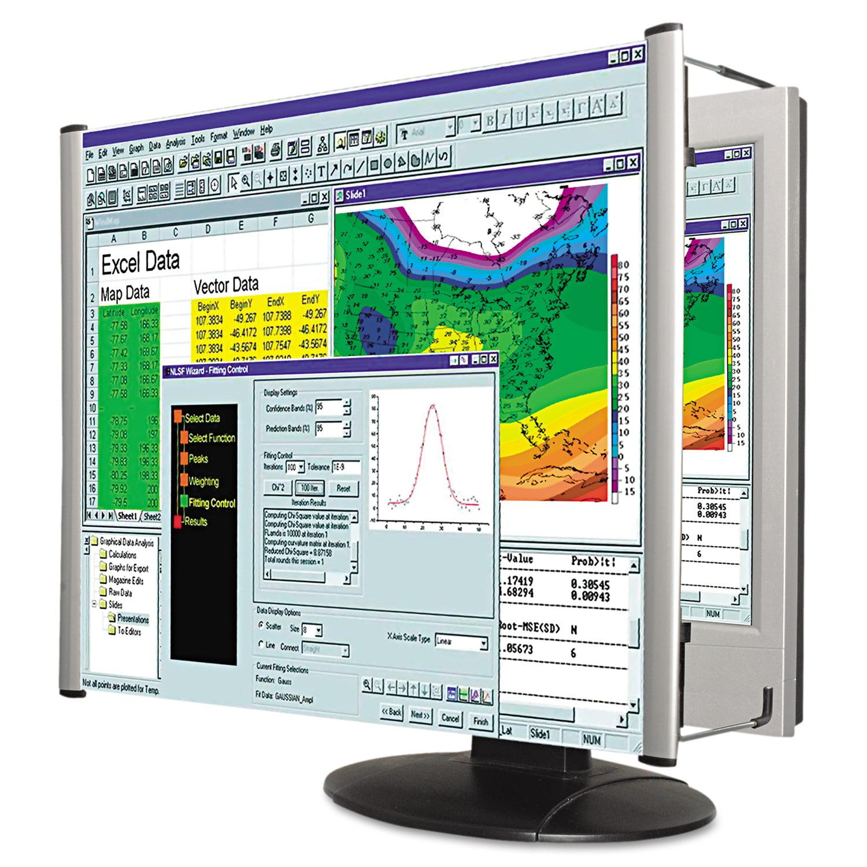 """Kantek LCD Monitor Magnifier Filter, Fits 19"""" LCD"""