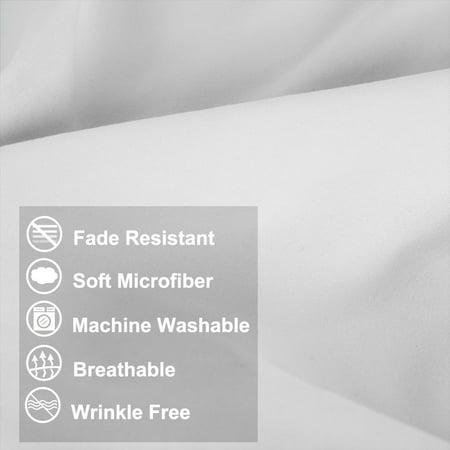 Housse de Coussin en Microfibre pour Le Corps et Les oreillers - image 5 de 7