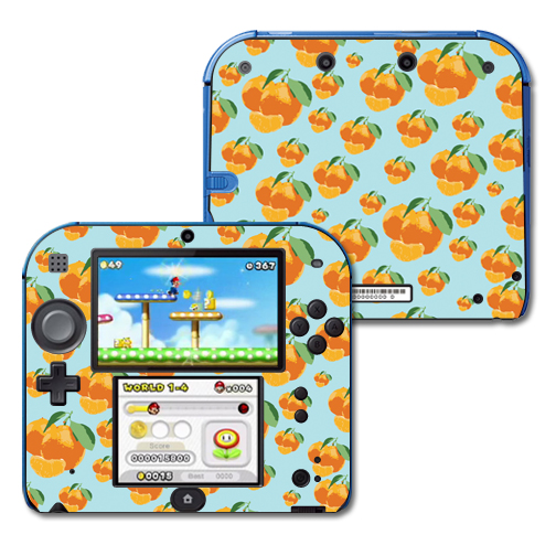 Mightyskins Protective Vinyl Skin Decal Cover for Nintendo 2DS wrap sticker skins Orange You Glad