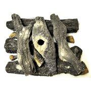 HPC 5 Pcs Woodland Style Ceramic Fiber Gel Cast Log Set