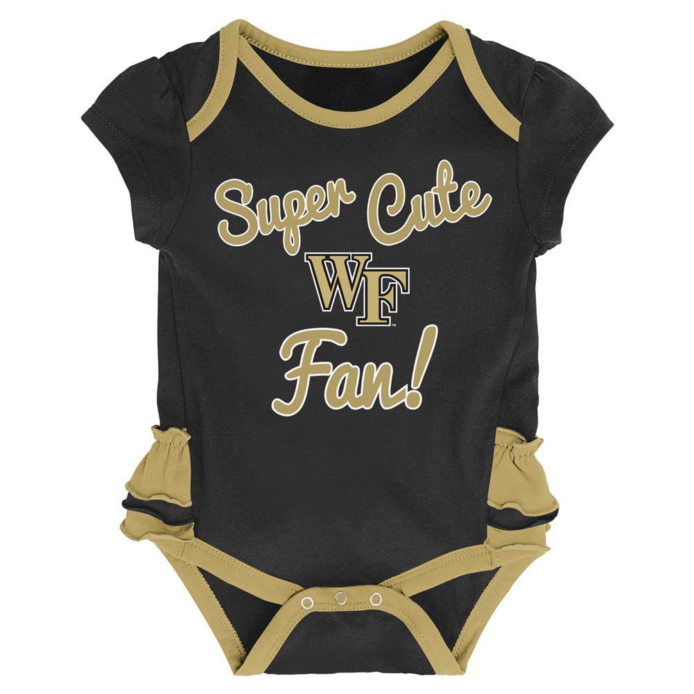 Gen 2 NCAA Unisex-Child NCAA Newborn /& Infant 50 Yard Dash Bib /& Bootie Set