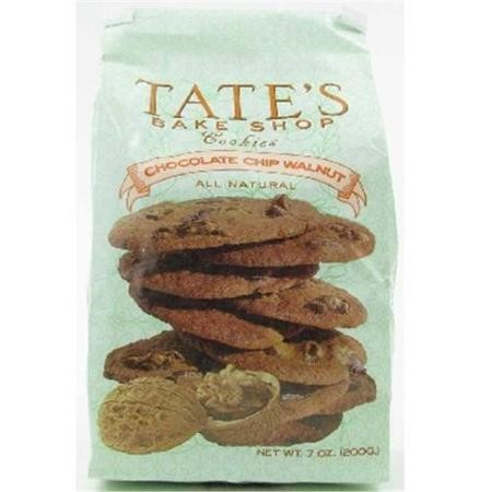 Tate's Bake Shop Cookies, Chocolate Chip Walnut, 7 Oz