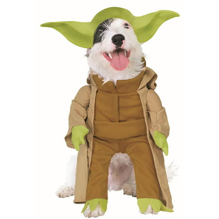 Star Wars Yoda Dog Costume - Medium - Unique Dog Costumes