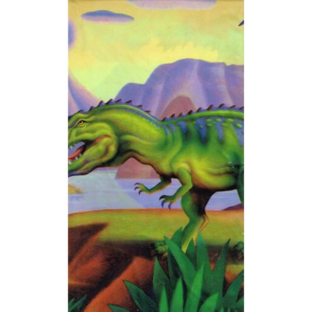 - Mighty Dinosaurs Plastic Table Cover (1ct)