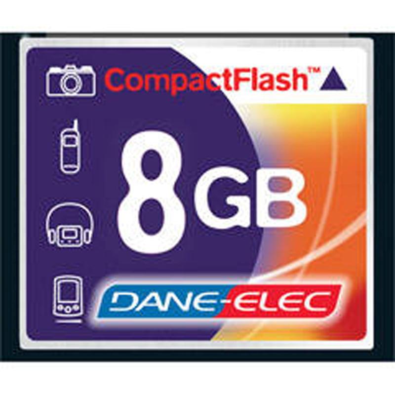 Dane 8GB Compact Flash Memory Card