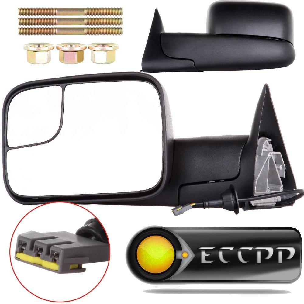 eccpp towing mirrors dodge ram tow mirrors pair power ope...