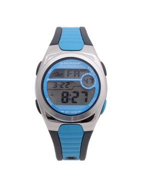 58821a0cf Product Image Dunlop Digital Watch Women´s DUN194M03 Silver/Turquoise  Plastic Quartz