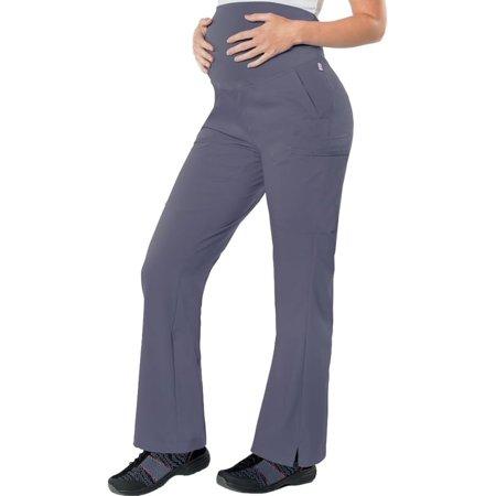 (urbane ultimate women's soft knit waistband maternity scrub pant)