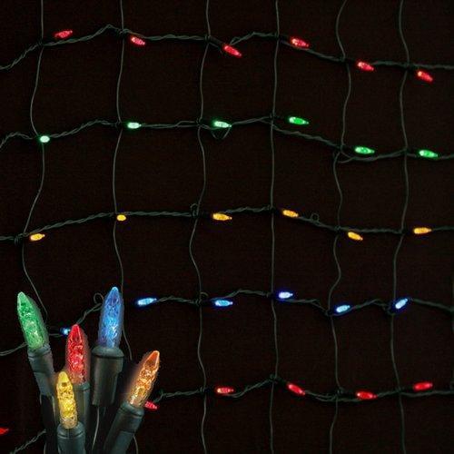 Christmas at Winterland S-4x6M54M-NG Net Lights , Holiday Lighting, Multicolor