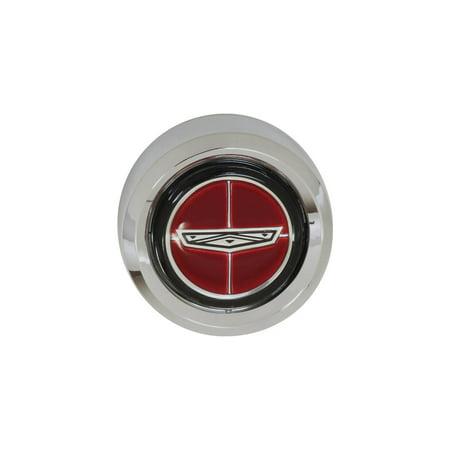 MACs Auto Parts Premier  Products 42-48177 Ford Fairlane & Torino Wheel Center Cap, Magnum (Fairlane Center)
