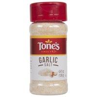 Tone's Garlic Salt, 4.41 Oz