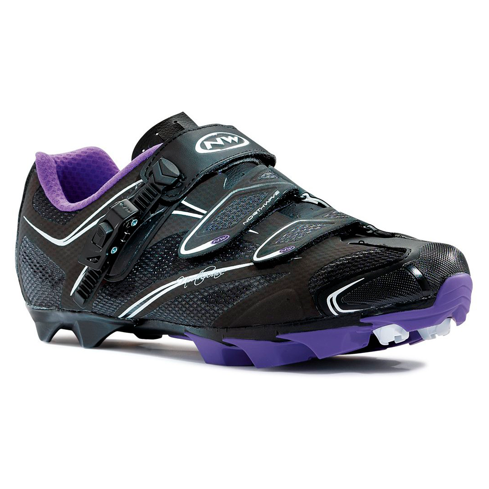 Northwave Katana SRS Mountain MTB Womens Shoes US 6.5/EU 38 Black/Violet