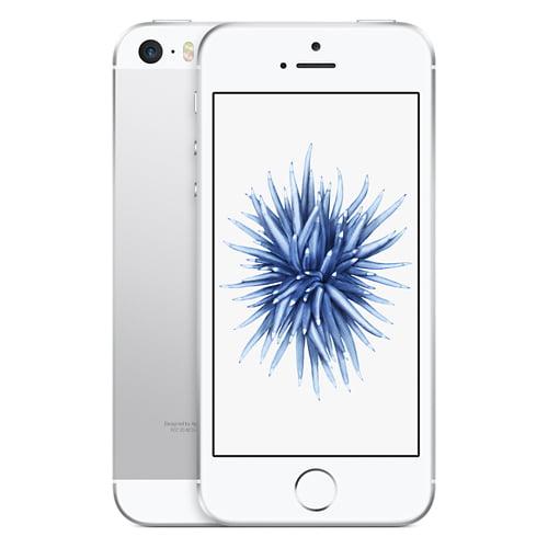 Apple Iphone SE Silver 64GB Sprint Prepaid Carrier Locked...