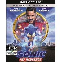 Sonic the Hedgehog (4K Ultra HD + Blu-ray + Digital Copy)