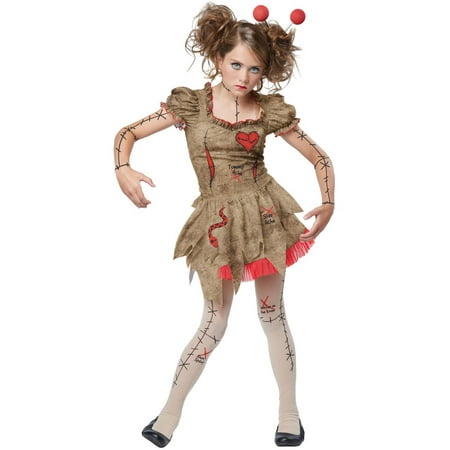 Voodoo Dolly Child Halloween Costume - Voodoo Doll Costume Ideas