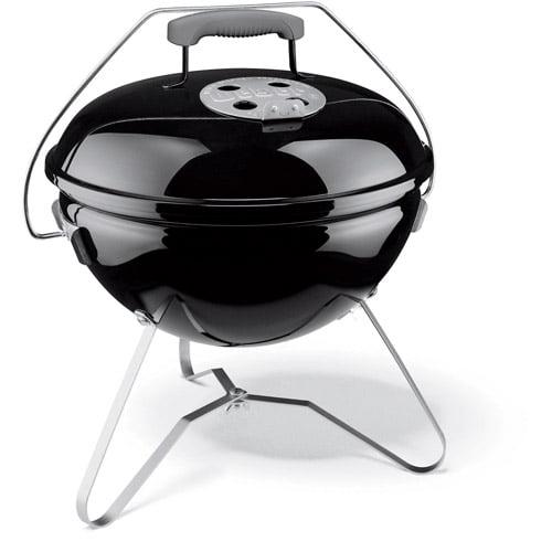 "Weber 14"" Smokey Joe Premium Charcoal Grill, Black"
