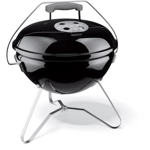 "Weber 14"" Smokey Joe Premium Charcoal Grill, Black"