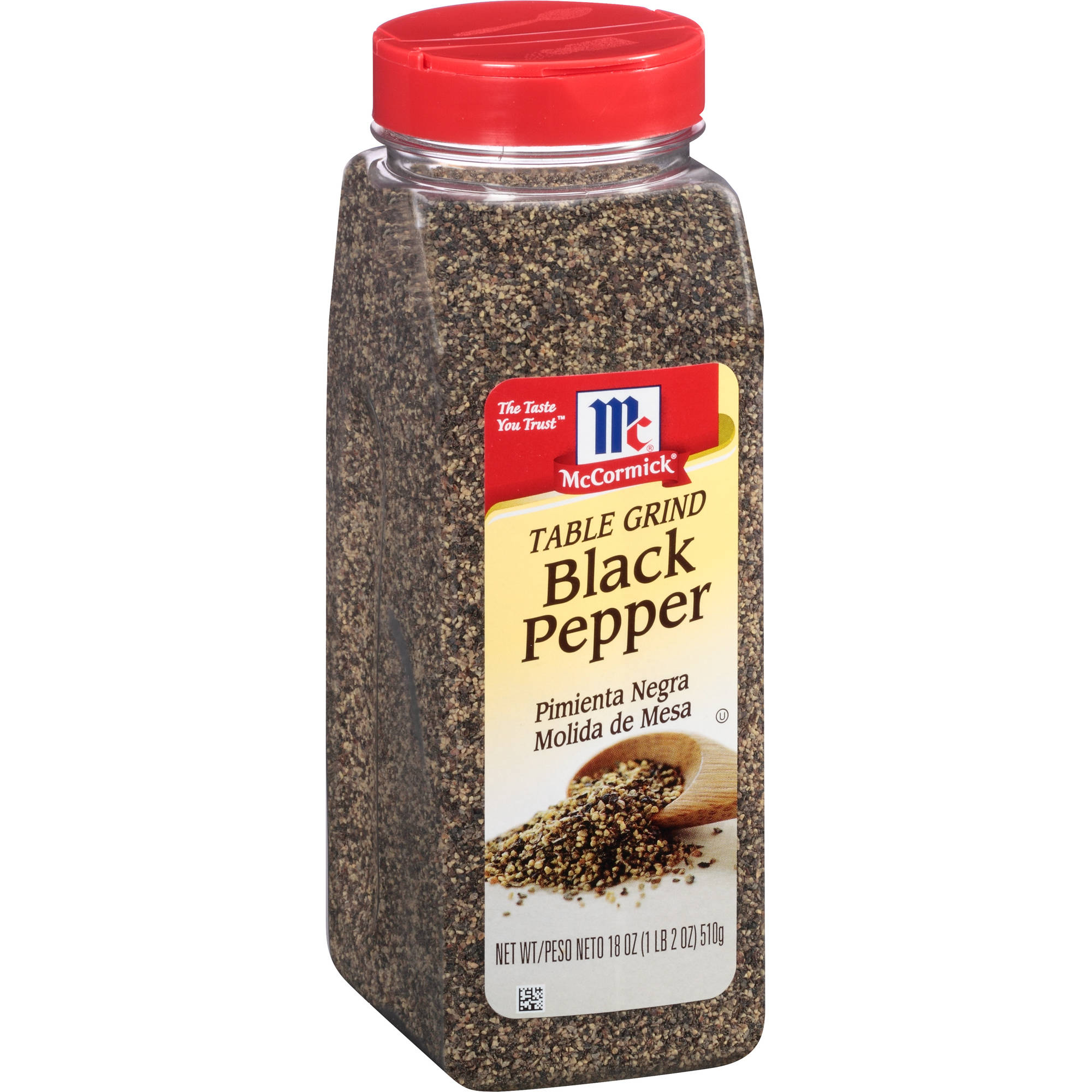 McCormick Table Grind Black Pepper, 18 oz