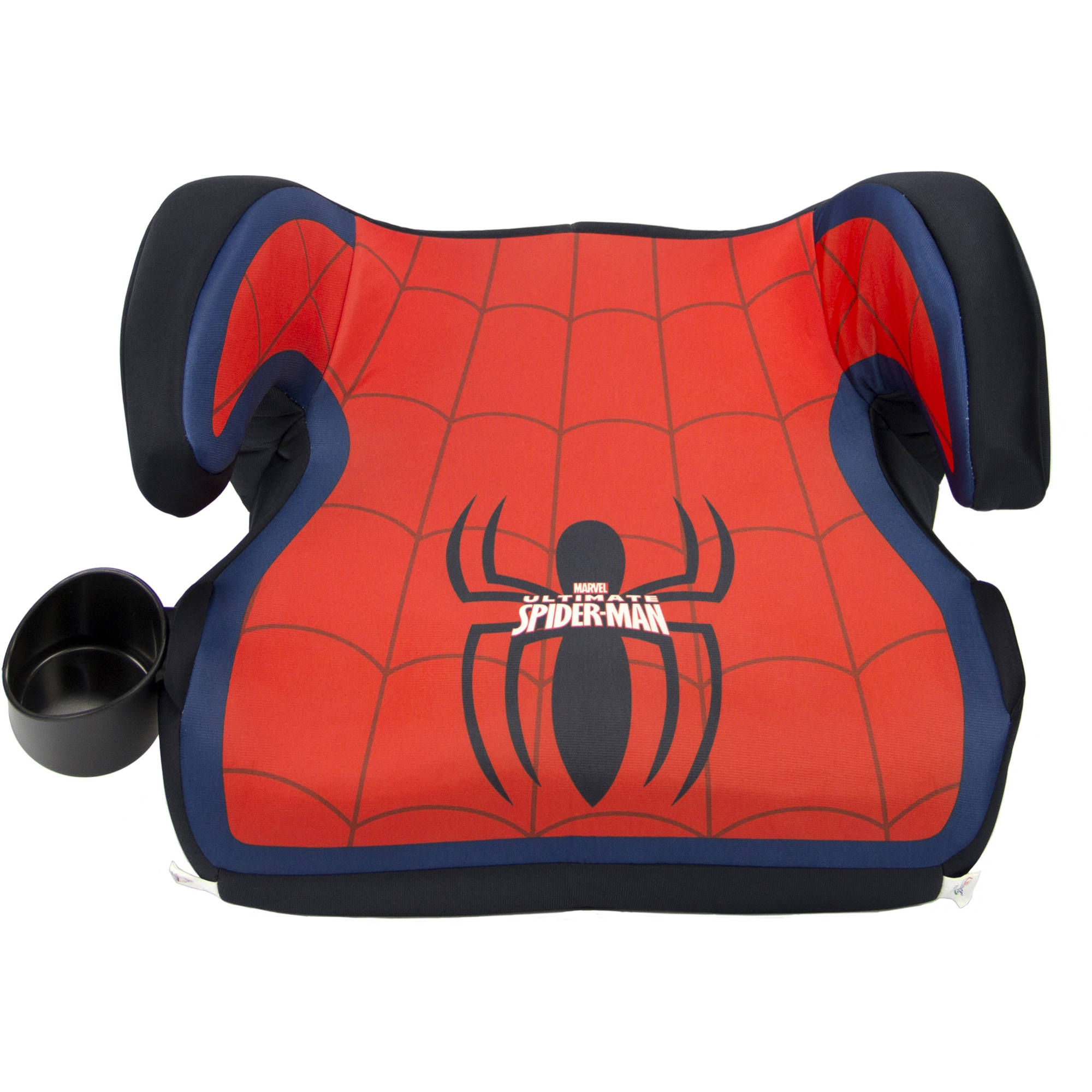KidsEmbrace Fun - Ride Backless Booster Car Seat, Ultimate Spider - Man