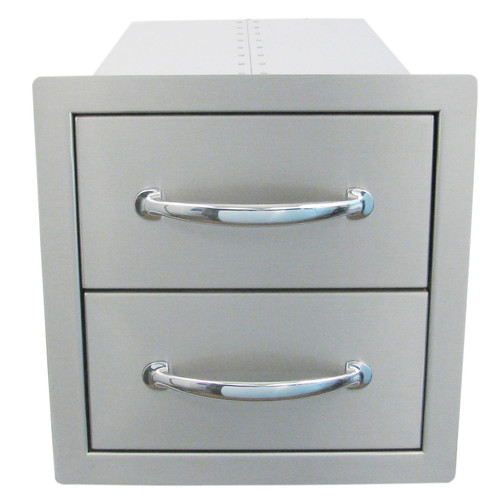 Sunstone Grills Flush Double Access Drawer