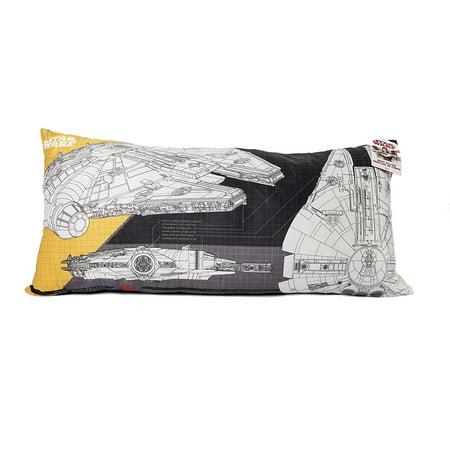 Atlanta Falcons Body Pillow - Star Wars 94460 Millennium Falcon Ultra Soft Body Pillow - 18